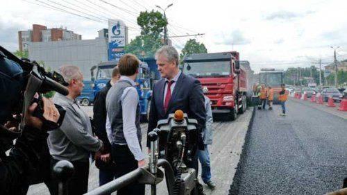 Министр дорожного хозяйства оценил ремонт трасс челябинска на четверку