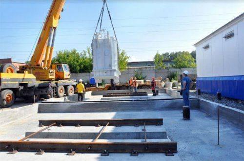 Реконструкция подстанции «амз» обошлась в 350 млн рублей