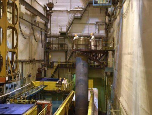 В озерск прибыл эшелон с отработавшим ядерным топливом белоярской аэс